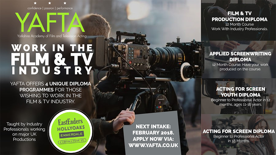 want to work in the film television industry lance video  film tv production diploma