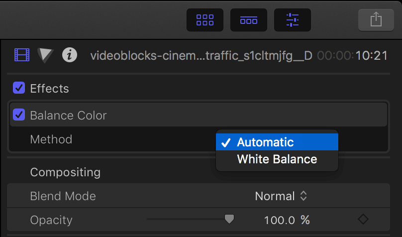 FCPX screenshot 3
