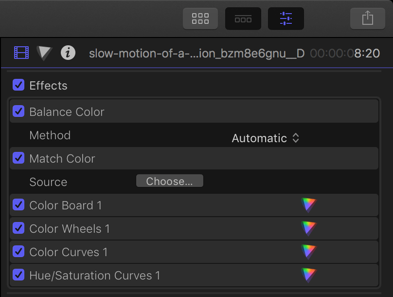 FCPX screenshot 14