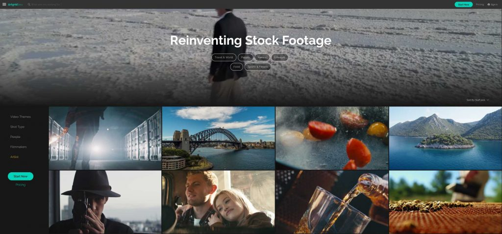 Artgrid Stock Video