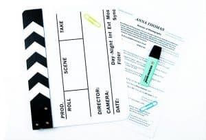 filmmaker cv