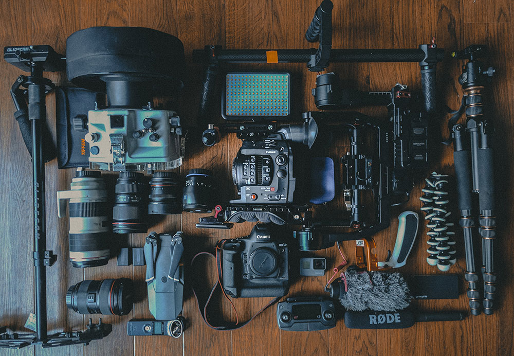 hire film and video equipment