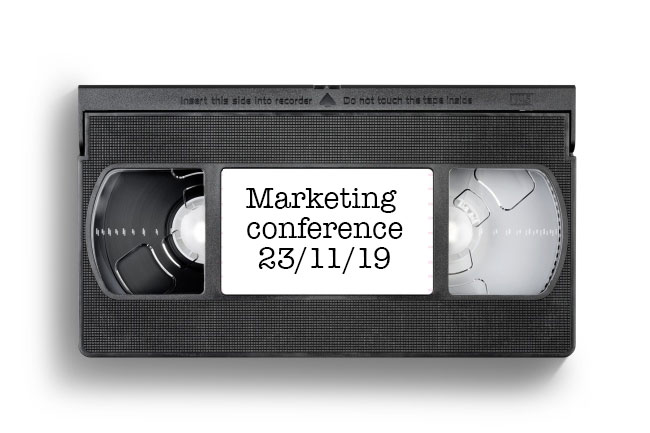 VHS label