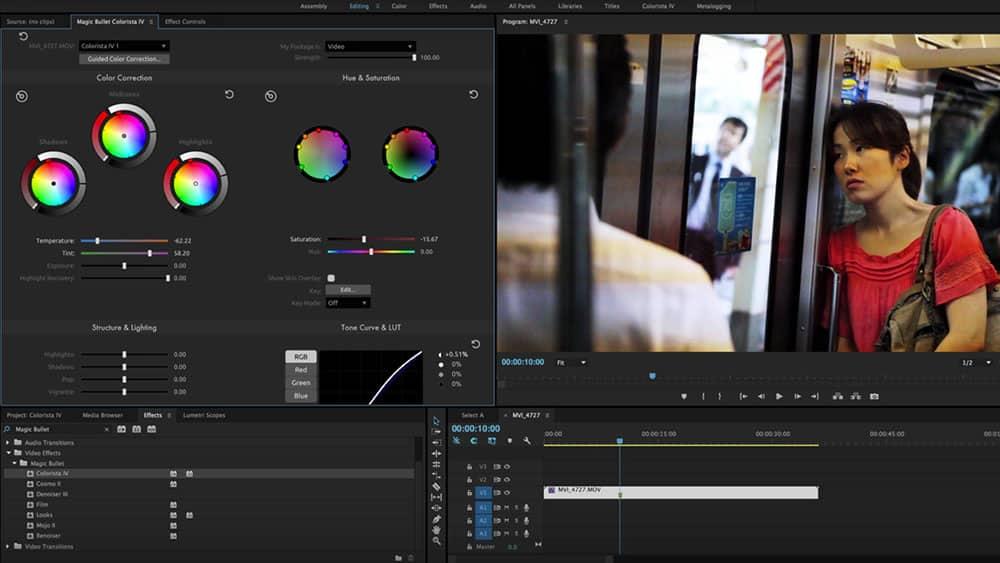 Red Giant Magic Bullet Colorista Screenshot