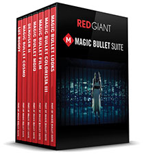 Red Giant Magic Bullet Colorista grading software