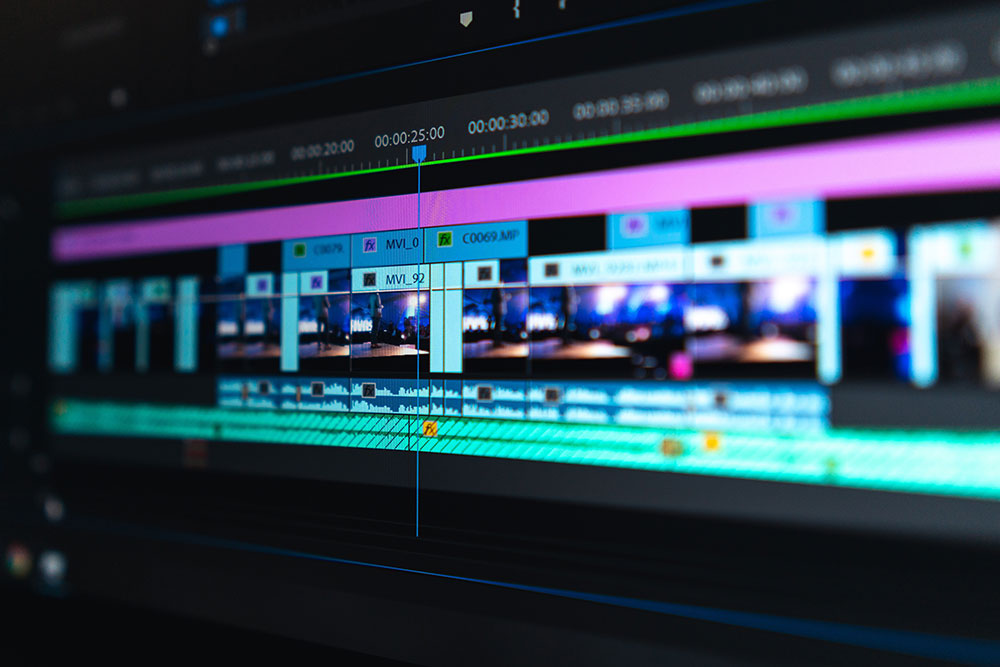 film crew role video editor