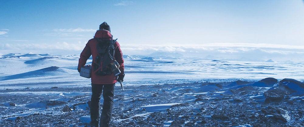 Arctic screenshot blue colour palette