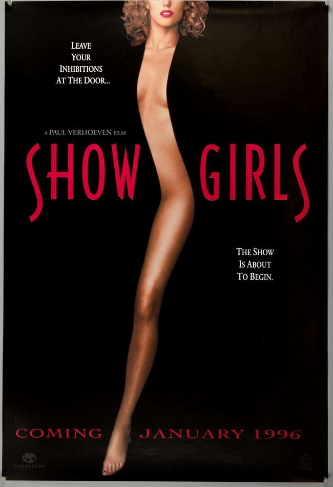 Showgirls Film Poster