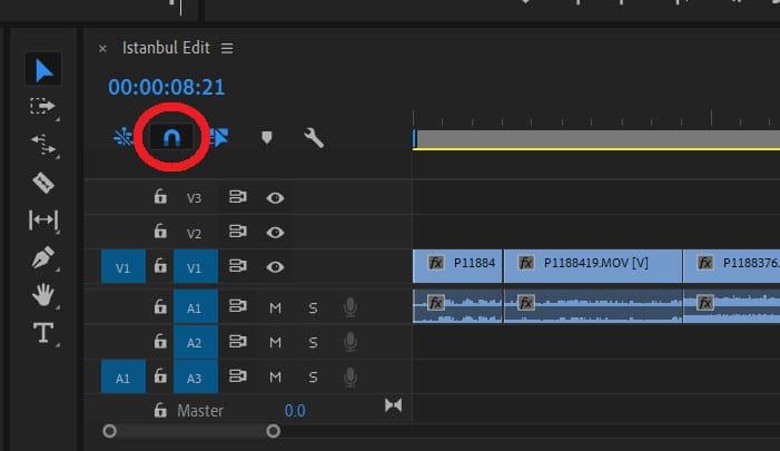 edit footage