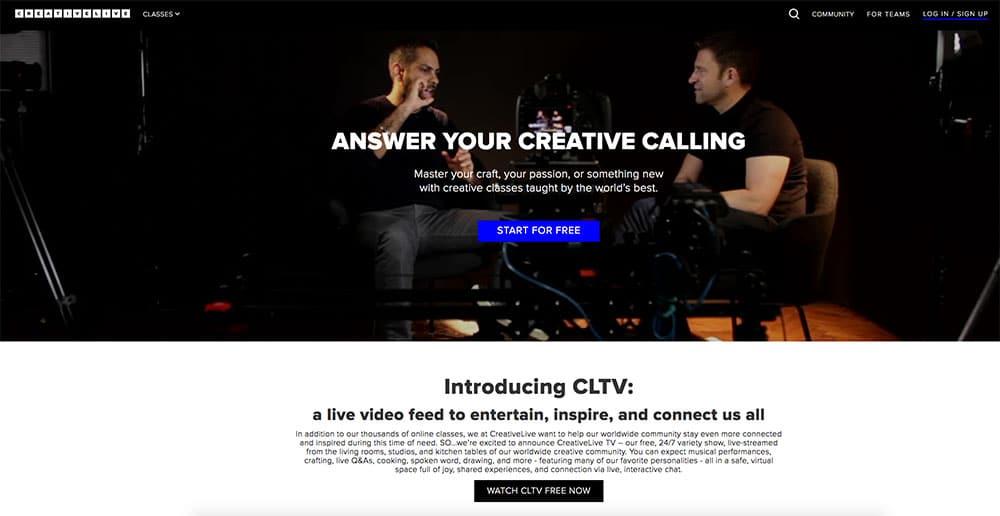 CreativeLive Discount Code