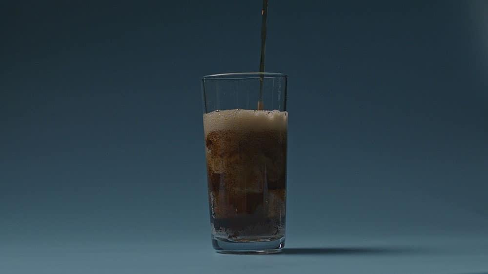 close up coca cola