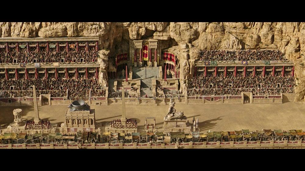 Ben Hurr film screenshot 2.76:1 ratio