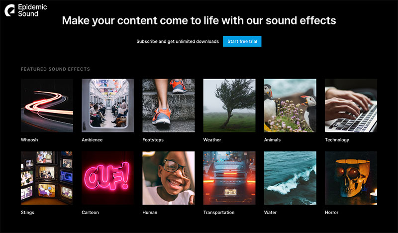 sound effects pack
