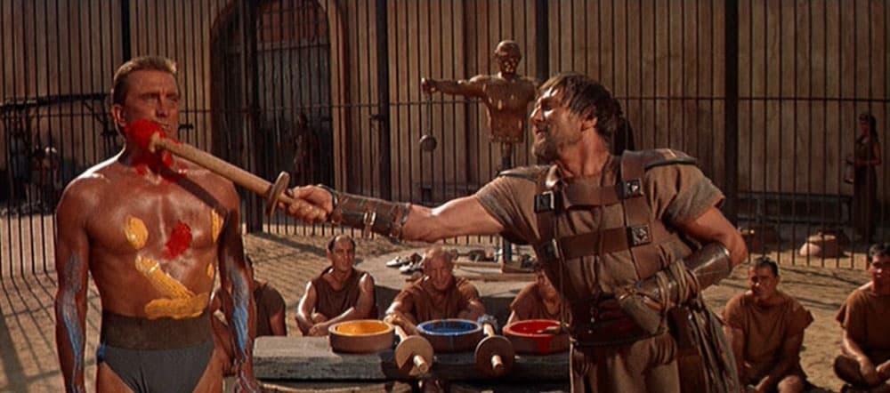 Spartacus film screenshot 2.20:1 ratio