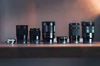 blogging camera lens