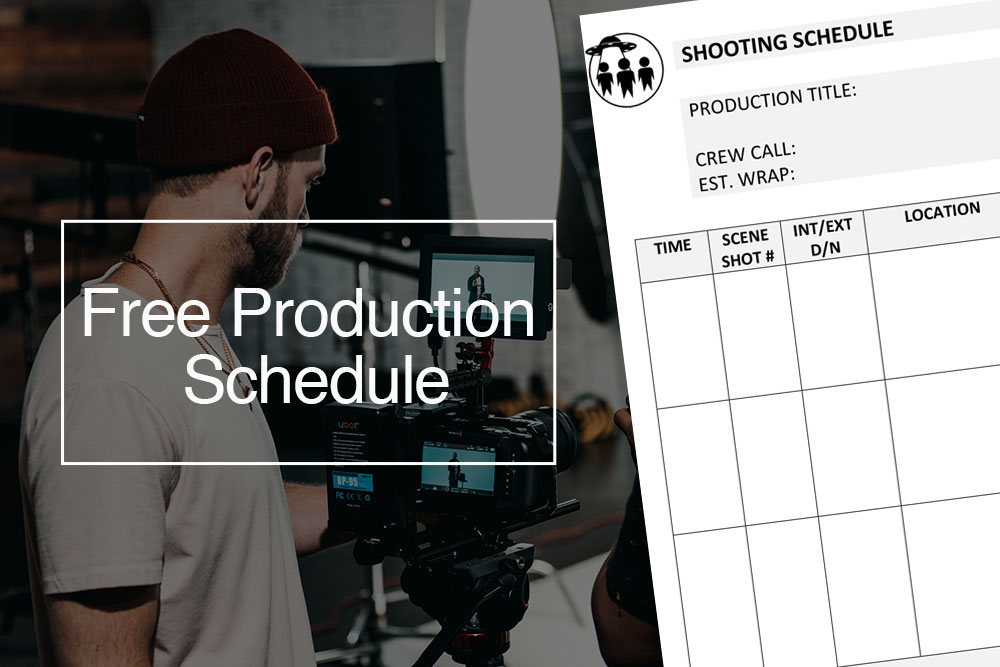 Free film production schedule template