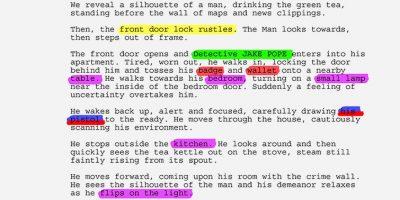 Free script breakdown template