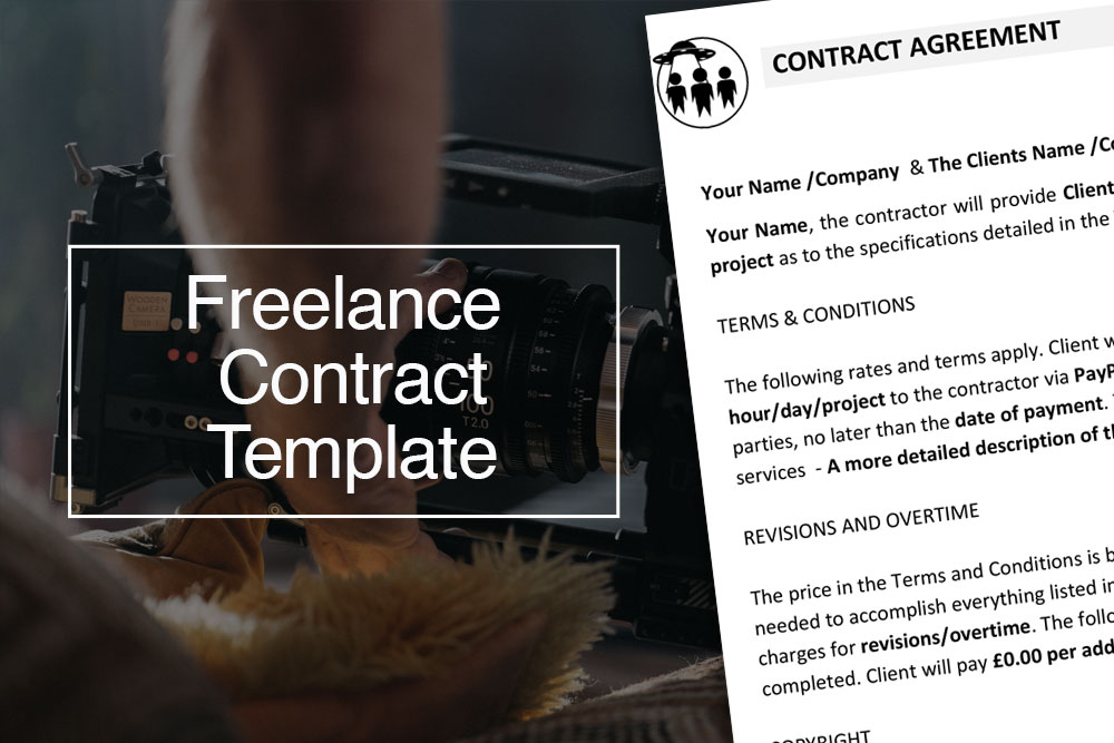 Freelancer contract template