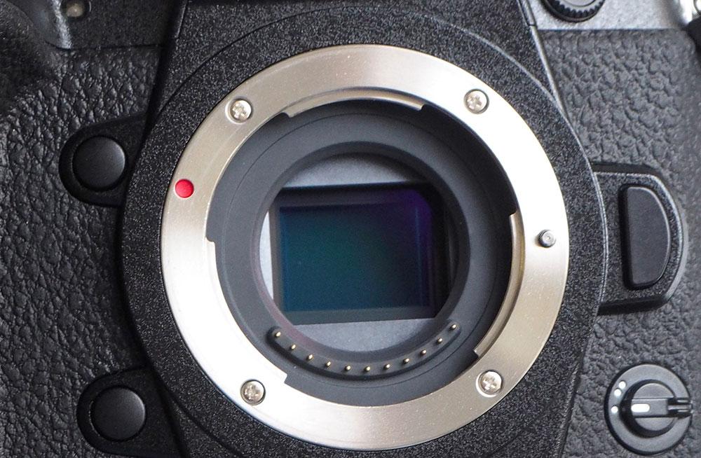 GH5S sensor closeup
