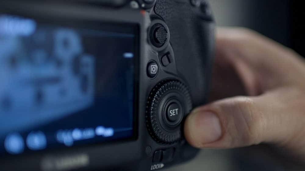 Panasonic Lumix rear screen settings