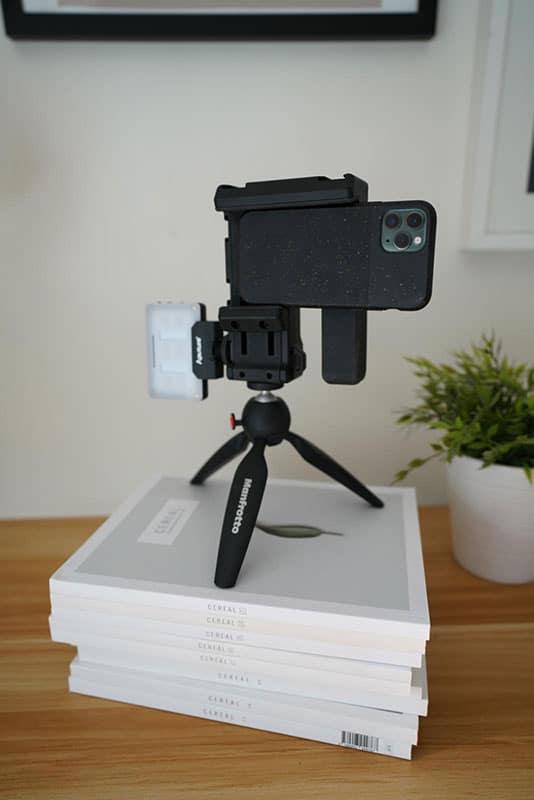 iphone camera stand