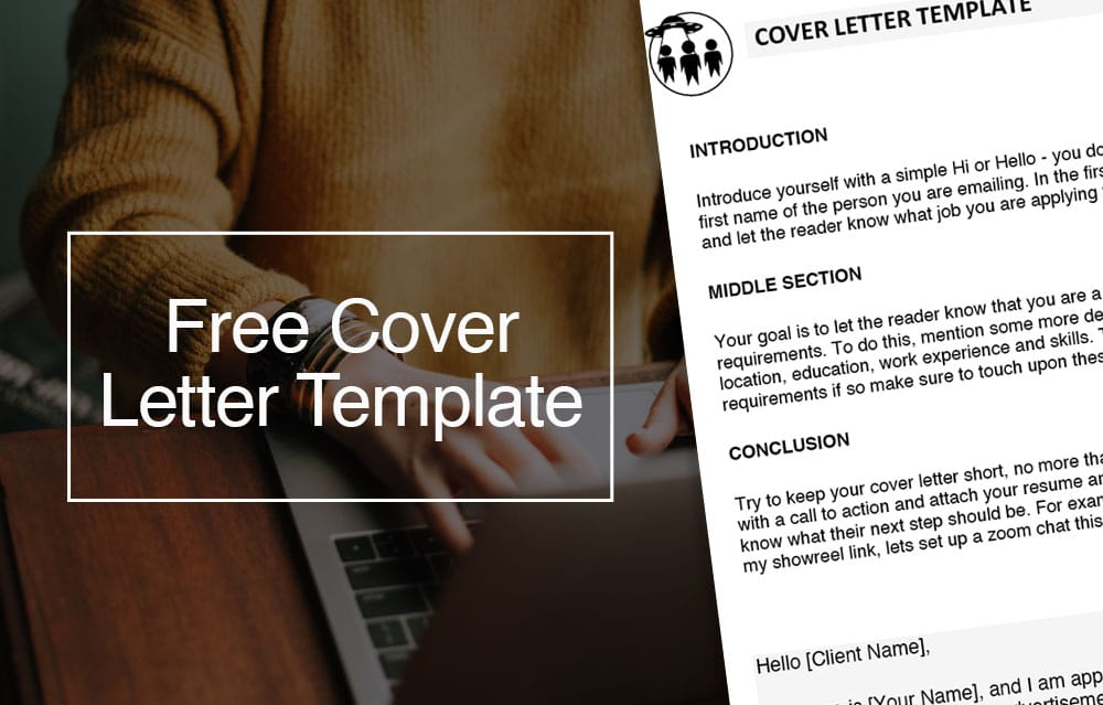 Film Production Cover Letter