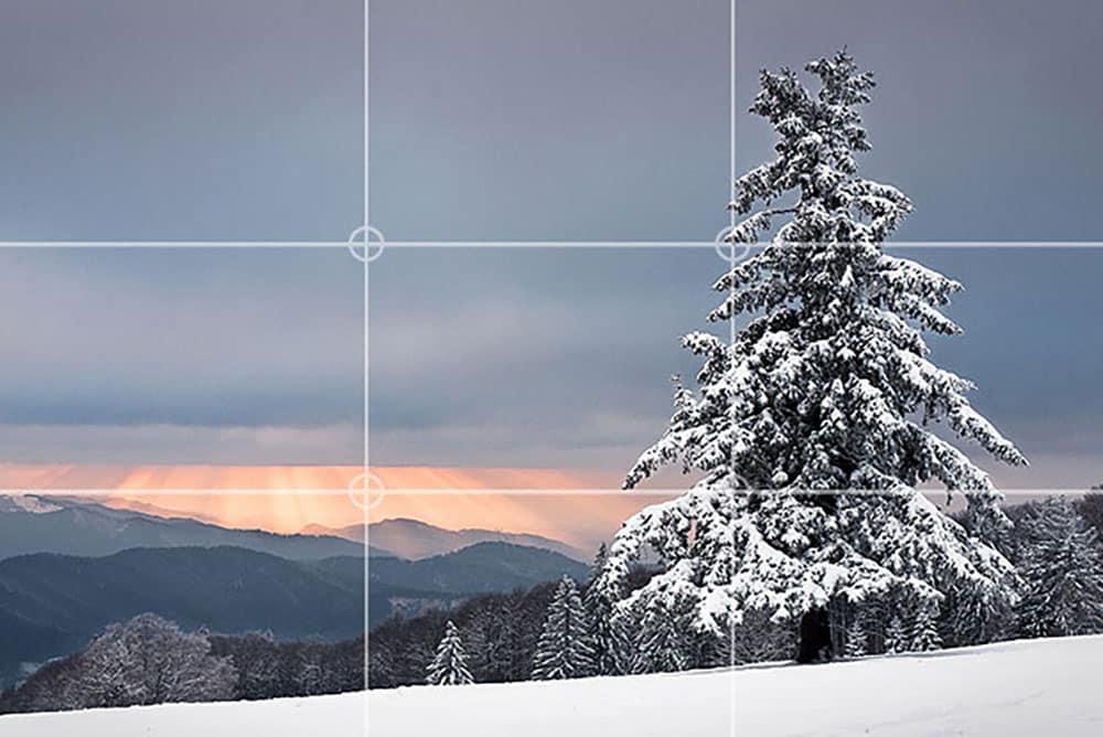rule of thirds landscape DIY filmmaking