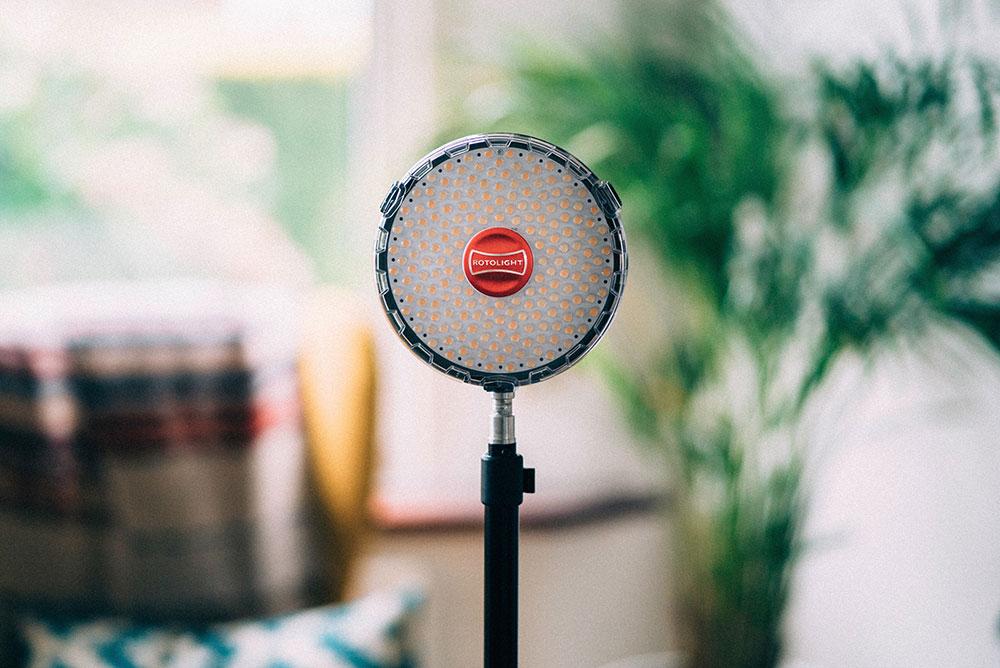 cheap YouTube camera light