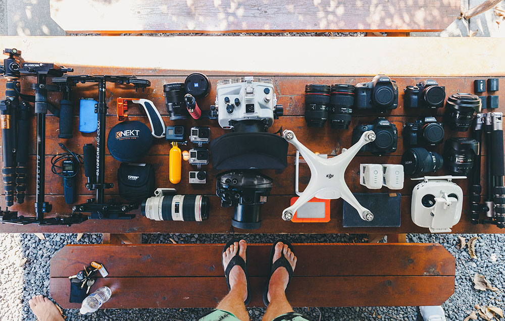 how to make a successful youtube channel - vlogging equipment