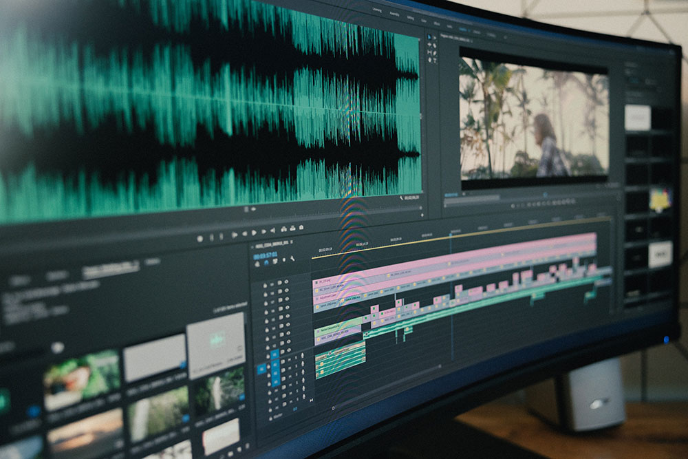 music for video editing