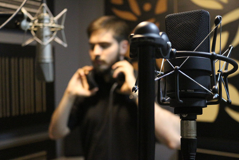 artist recording studio